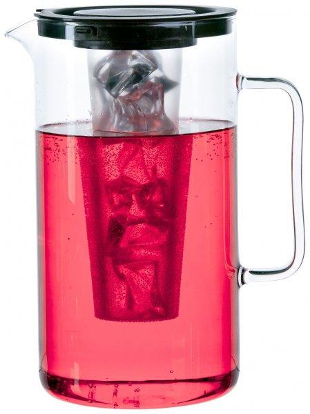 Bohemia Cristal Krug ca. 2,5 ltr. aus hitzebeständigem Borosilikatglas mit Eiswürfeleinsatz @ Amazon.de Prime