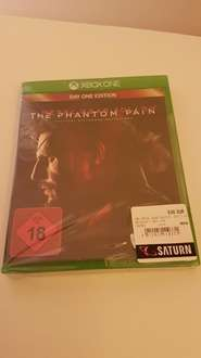 [lokal Ludwigsburg] Metal Gear Solid 5 - The Phantom Pain - XB1 -  5€