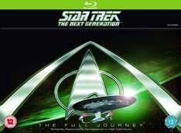 """Star Trek TNG - The Full Journey"" (Staffel 1-7) (Bluray) (dt. Tonspur) für 54,98€ u.a. Star Trek Boxen reduziert [Amazon.co.uk]"