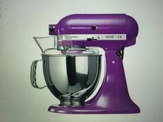KITCHENAID Artisan 5KSM150PS + Glasschüssel 5K5GB, 4,8 l@ Brands4Friends (b4f)