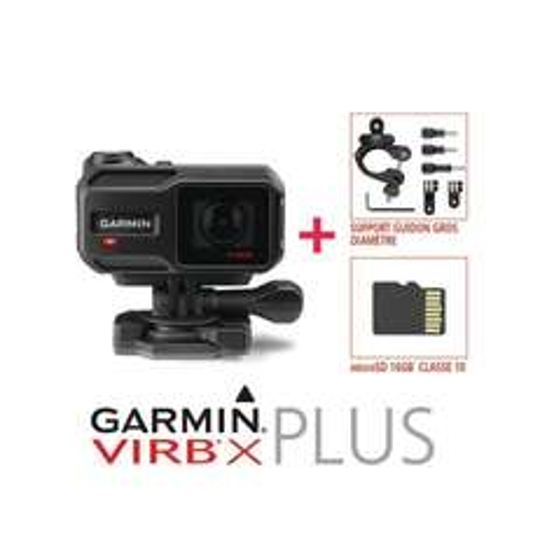 Garmin Virb X Sportkamera + Lenkerhalterung + SD (204 Euro statt 278 Euro)