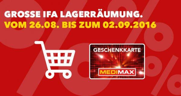 [Medimax Filiale] 300€ Geschenkkarte gratis ab 1500€ Einkaufswert (50€ ab 400€, 100€ ab 700€, 200€ ab 1200€)