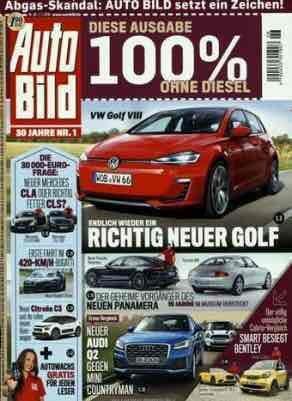 AutoBild Jahresabonnement für 9,65€ durch 100€ Verrechnungsscheck bei 109,65€ Bezugskosten