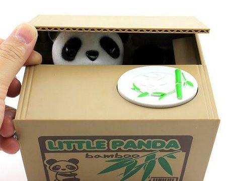 Panda Spardose Elektrisch [AMAZON.de] oder Katze für teurer