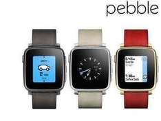 Pebble Time Steel Smartwatch [iBood]