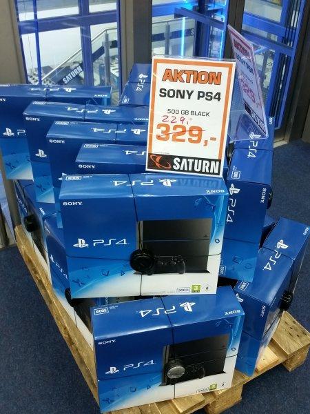 [LOKAL] Saturn Wiesbaden - Sony PS4 black 500gb 1216 für 229€