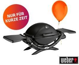 Weber Gasgrill Q 1200 Black bei lifestrom als Prämie Kostenlos für Neuverträge