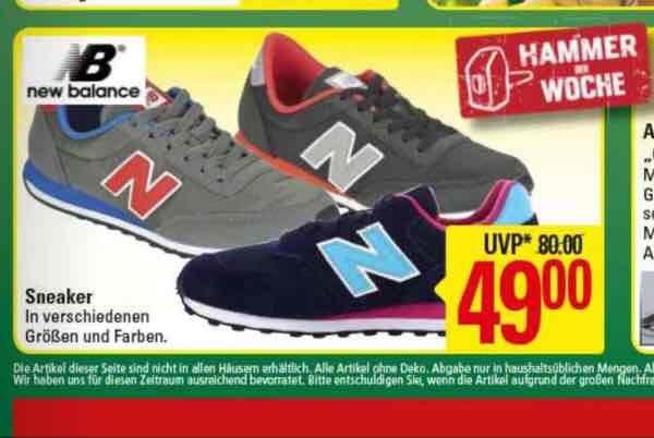 Hammer der Woche new Balance 49€