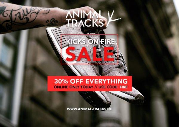 -30% auf das ganze Sortiment (Sneaker/Fashion), auch reduziertes