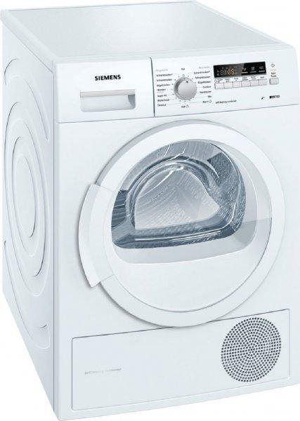 499€ / Siemens WT46W261 Weiß iQ700 Wärmepumpentrockner, A++, 8 kg