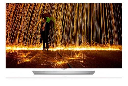 LG 55EF9509 139 cm (55 Zoll) OLED Fernseher (Ultra HD, Triple Tuner, 3D, Smart-TV) [Energieklasse A]