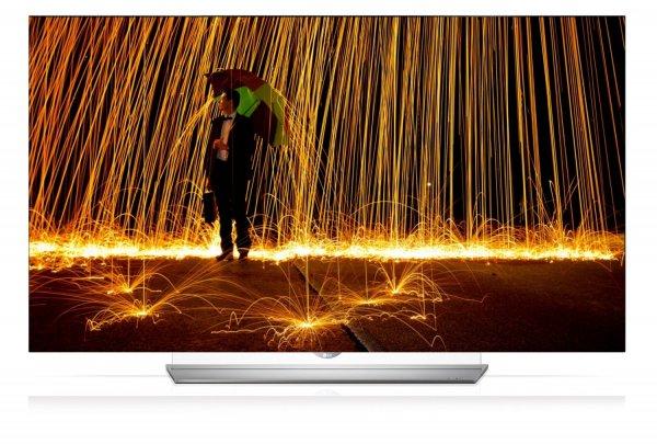 LG 55EF9509 139 cm (55 Zoll) OLED Ultra HD TV, Triple Tuner, 3D, Smart-TV) [Energieklasse A], Harman Kardon Lautsprecher für 2449€ @Amazon.de Blitzangebot [Tiefstpreis] [Testsieger Stiftung Warentest] + 100€ Gutschein!