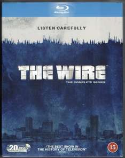 The Wire - The Complete Season 1-5 [Blu-ray] [Region Free/ 20 Discs] incl. deutscher Tonspur für 39,99€ @Amazon.de