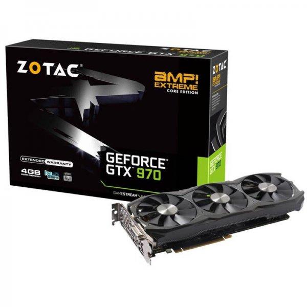 ZOTAC GeForce GTX 970 AMP! Extreme Core Edition Aktiv @mindstar