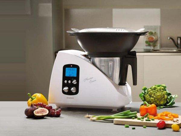 SILVERCREST® Küchenmaschine Monsieur Cuisine SKMH 1100 A1 Von Lidl