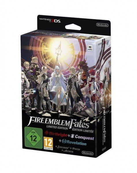 [Rakuten.de] Fire Emblem Fates Limited Edition (Nintendo 3DS) für 73,89€