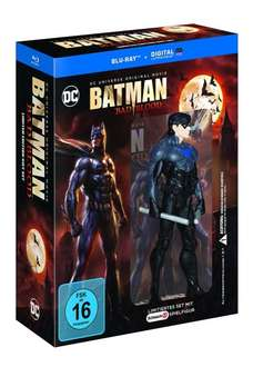 [Blu-Ray] Batman: Bad Blood inkl. Nightwing Figur @Amazon 14,97€
