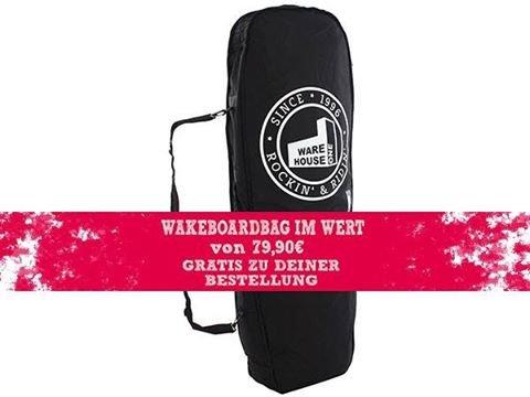 WH1 Gratis Boardbag zum Wakeboard + Sale