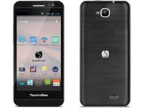 [Technik-Profis.de]  TechniSat TechniPhone 5 Smartphone schwarz