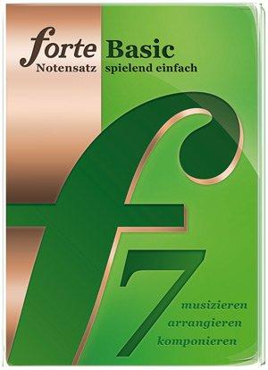 Notensatzprogramm FORTE 7 Basic kostenlos (regulär 19 €)