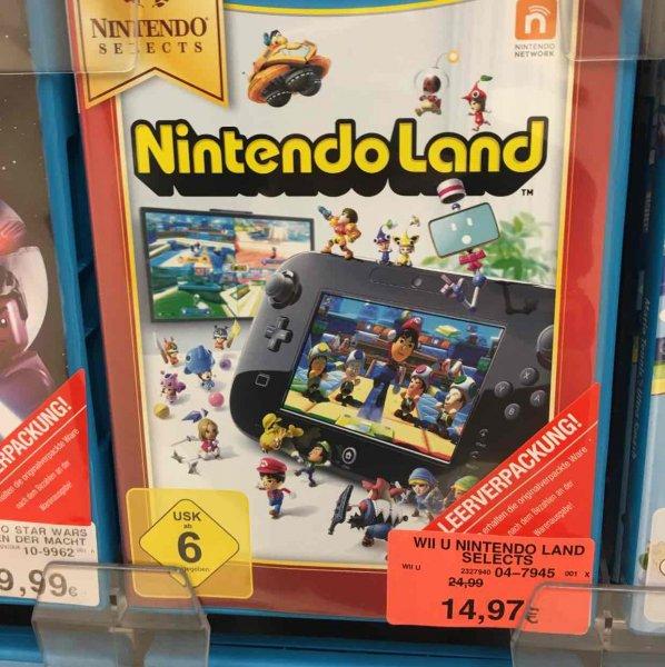 Nintendo Land für Nintendo Wii u (Lokal Hamburg Eidelstedt Toys r us) 14,97€