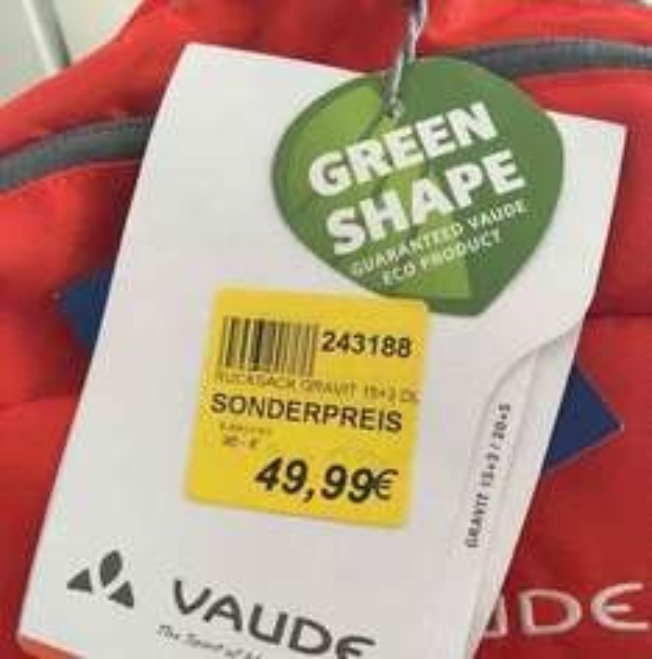 [Lokal Zweirad Stadler Frankfurt] Vaude Gravit 15+3 Rucksack