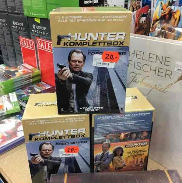 Lokal Saturn Witten Hunter Komplettbox DVD