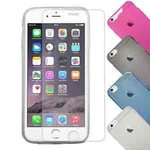 [EBAY] Panzerglas 9H + dünne Hülle für nur 3,33! iPhone 6 6+ S6