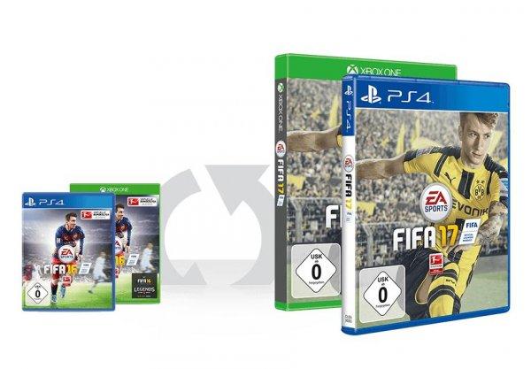 Fifa 17 PS4 & Xbox One für 39.99€ bei GameStop für + Mitglieder