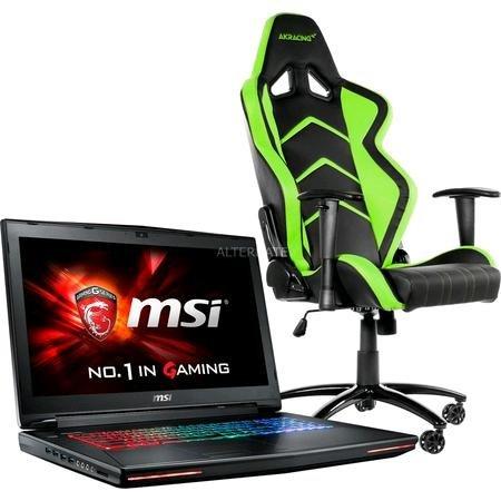 """[ZackZack] MSI 17,3"""" Notebook GT72S-6QEG16SR45BW Dominator Pro G + Stuhl (Ersparnis von 519,98 €)"""