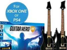 [45,90] ibood.com Guitar Hero live + 2 Controller PS4/XBOX
