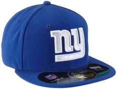 (Amazon) New Era 59Fifty NFL On Field New York Giants (blau)