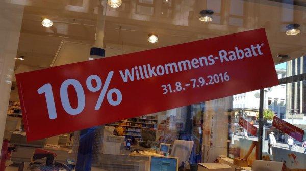 [Recklinghausen] Wiedereröffnung DM in der Innenstadt Marktplatz
