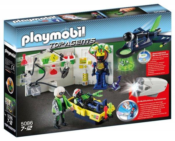 Perfektes Mitbringsel: Playmobil 5086 - Agentenlabor mit Flieger bei Amazon mit Prime für 6,89 €, PVG: 12,85 €