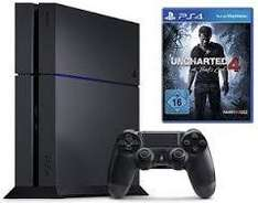 PS4 500GB, CUH-1216A + Uncharted 4: A Thief's End