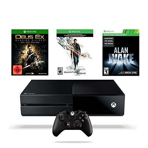 Xbox One 500GB Konsole inkl. Quantum Break + Alan Wake + Deus Ex: Mankind Divided [Amazon]