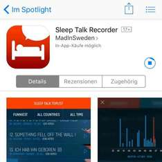 Sleep Talk Record