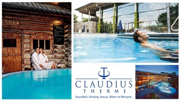 [lokal Sauna Köln] Ein Tageseintritt in die Thermal- und Wellnesslandschaft der Claudius Therme in Köln inkl. Wochenend- und Feiertagszuschlag für 23,45 € statt 33,50 €