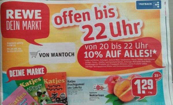 Lokal Rewe Dortmund Eving Bayrische Straße 155 10% ab 20Uhr bis 22Uhr
