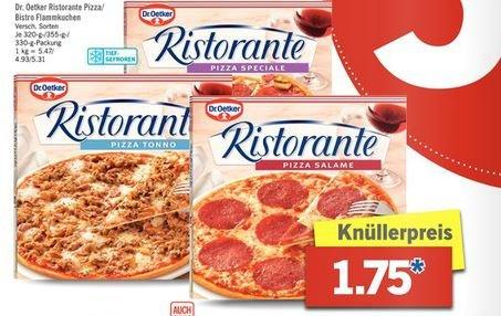 [Lidl ab Montag] Dr. Oetker Ristorante Pizza oder Flammkuchen für 1,75€