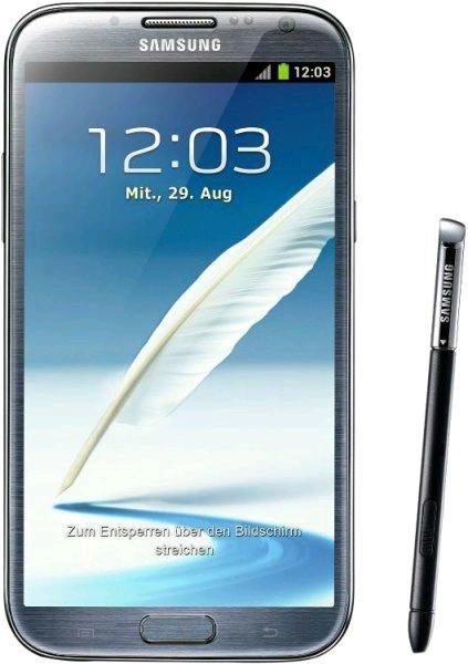 SAMSUNG Galaxy Note 2 LTE grau/weiss