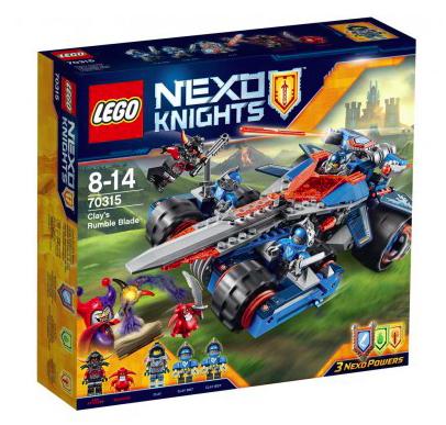 20% Rabatt auf deinen Lieblingsartikel bei [Spiele Max] z.B. Lego Nexo Knights Clays Klingen-Cruiser 70315 für 31,99€ bei Abholung, statt ca. 38€