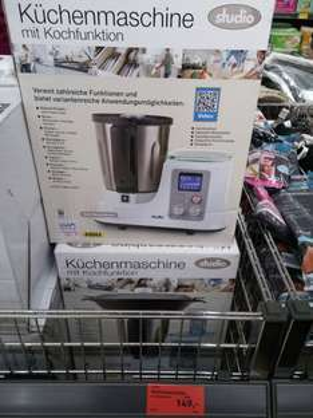 [Aldi Süd] Unterhaching nähe München Küchenmaschine mit Kochfunktion Thermomixklon