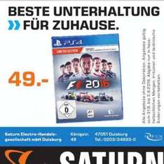 [Saturn Duisburg] [PS4] F1 2016