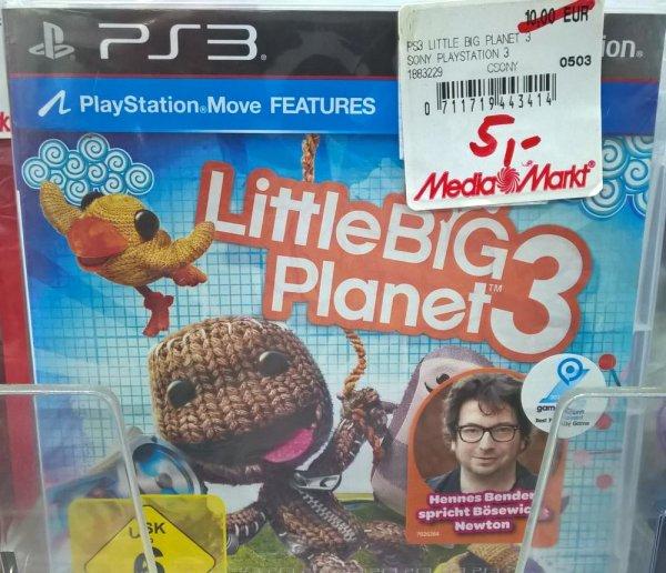 [MM Paderborn] Little Big Planet 3 (PS3) 5€, BlazBlue Calamity Trigger (PS3) 2,49€, GameCube Controller Adapter (Wii U) 10€