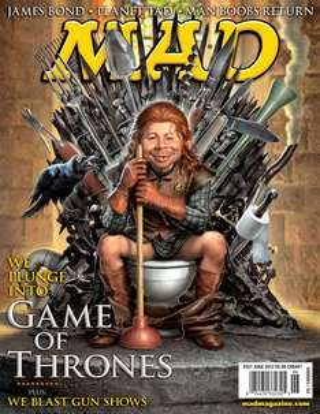 HAMMER! Humble MAD Magazine Bundle: 11 Ausgaben für $1.00, 21 Ausgaben + 1-Jahres-Abonnement für $8.00,  33 Ausgaben + 1-Jahres-Abonnement für $15.00