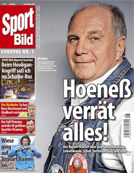 [magclub.de] Sportbild 16 Ausgaben (3 Monate + 1 Monat) für effektiv 6,95 / 0,43 cent pro Ausgabe