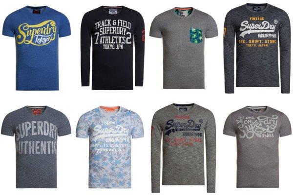 (ebay wow) Superdry Herren B-Ware T-Shirts Versch. Modelle und Farben € 11,95