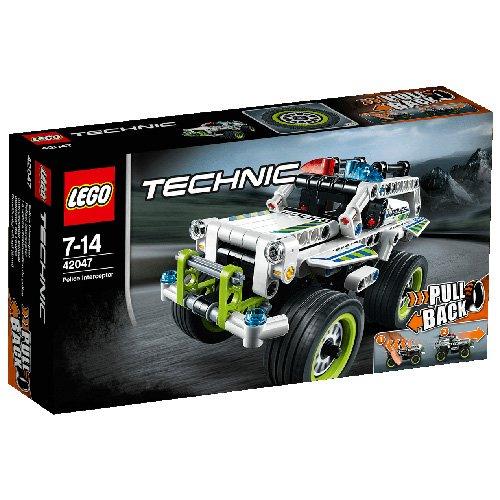 LEGO Technic 42047 - Polizei-Interceptor für 12,99€ mit [Amazon Prime] statt ca. 20€