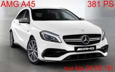 Mercedes AMG A45 Privatkundenleasing | 440,-€ pro Monat